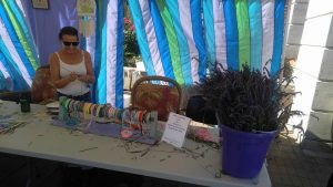 HBPets Craft Booth At Willamette Valley Lavender Festival