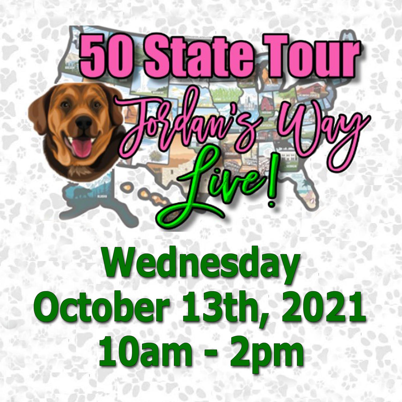 Jordans Way 50 State Tour October 13, 2021